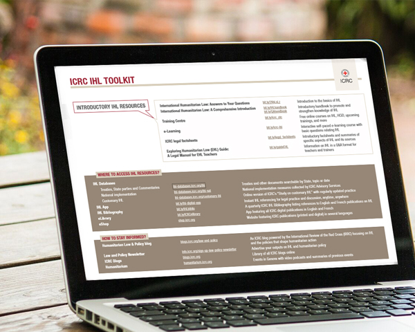The New ICRC IHL toolkit