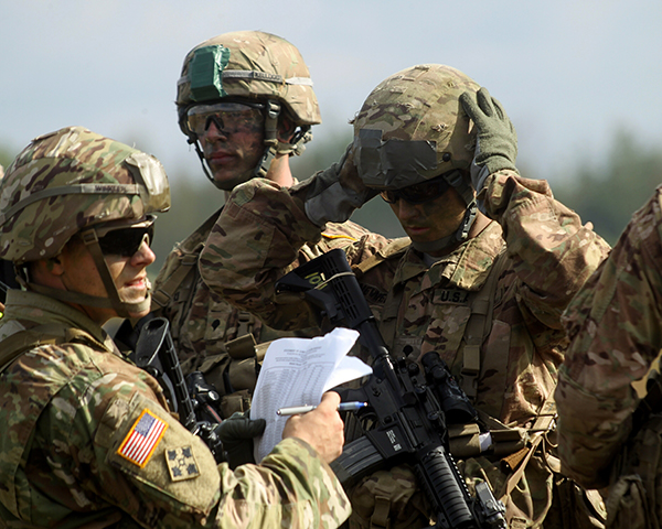 IHL in Action - Training on the Protection of Cultural Heritage for US troops. Photo: EPA